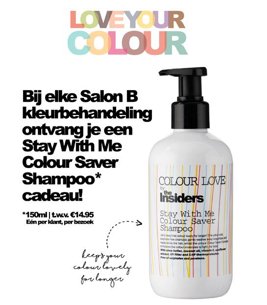 Cadeau: Stay With Me Colour Saver Shampoo van The Insiders