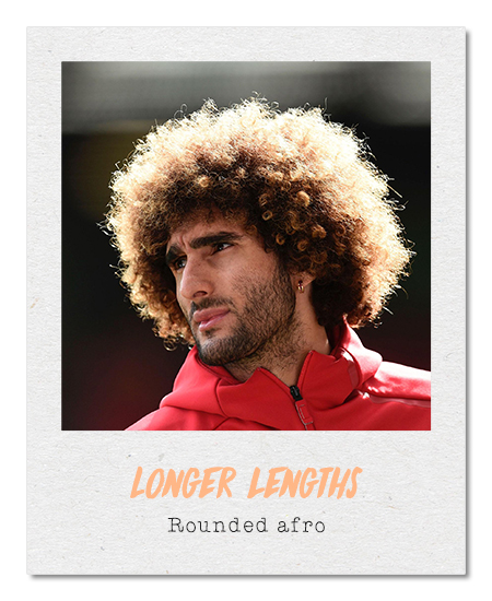 Rounded afro