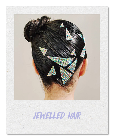 Jewelled hair