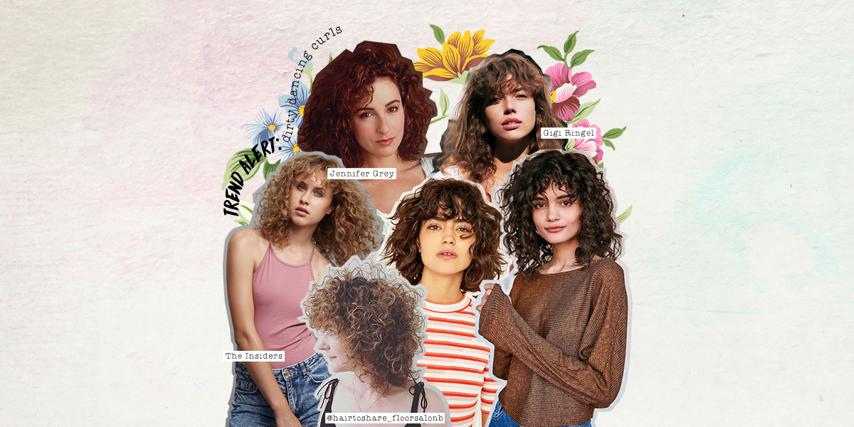 Trend alert: Dirty Dancing curls