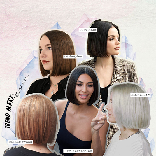 Trend alert: Glass hair