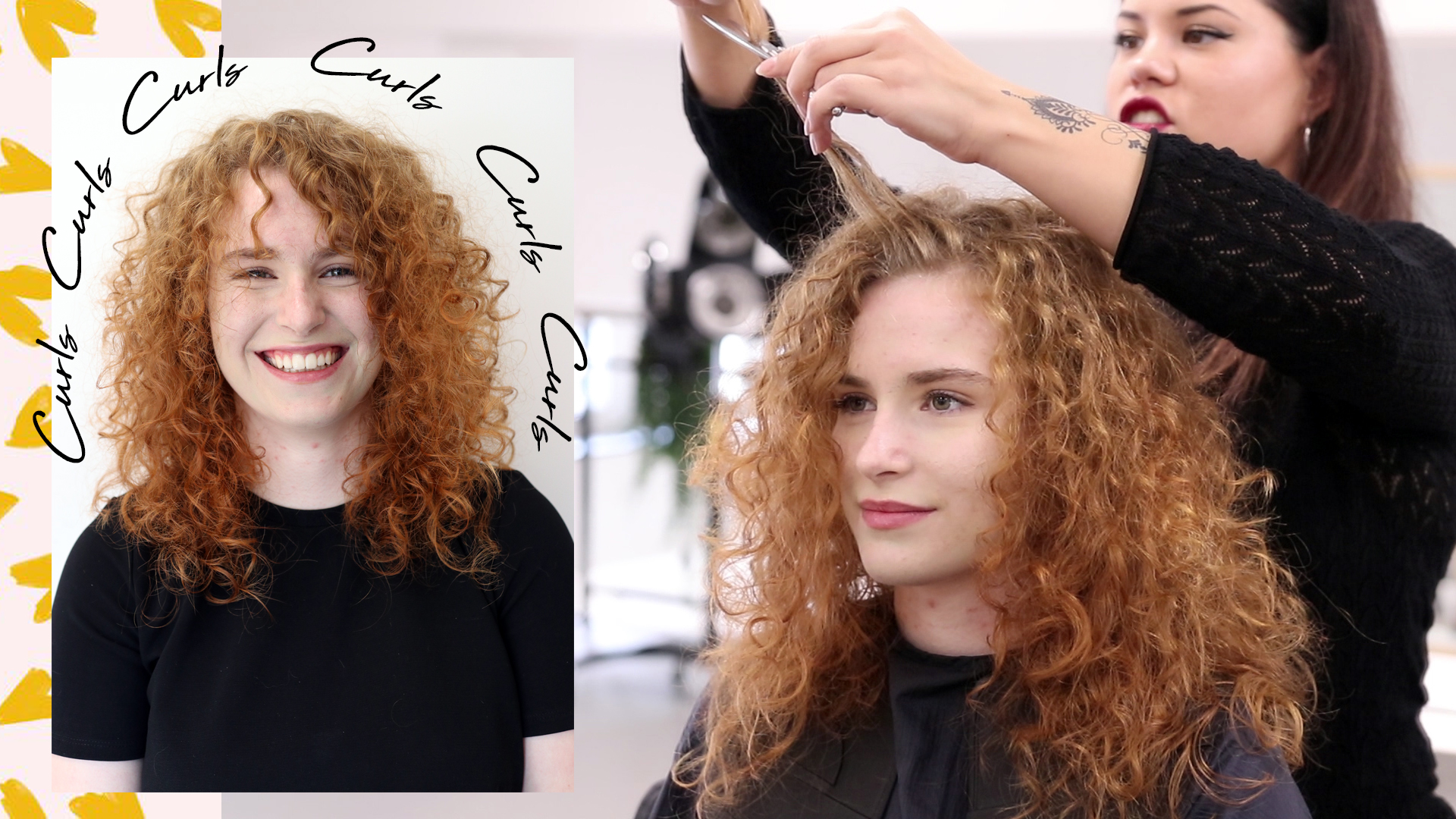 Make-over: Dirty Dancing curls