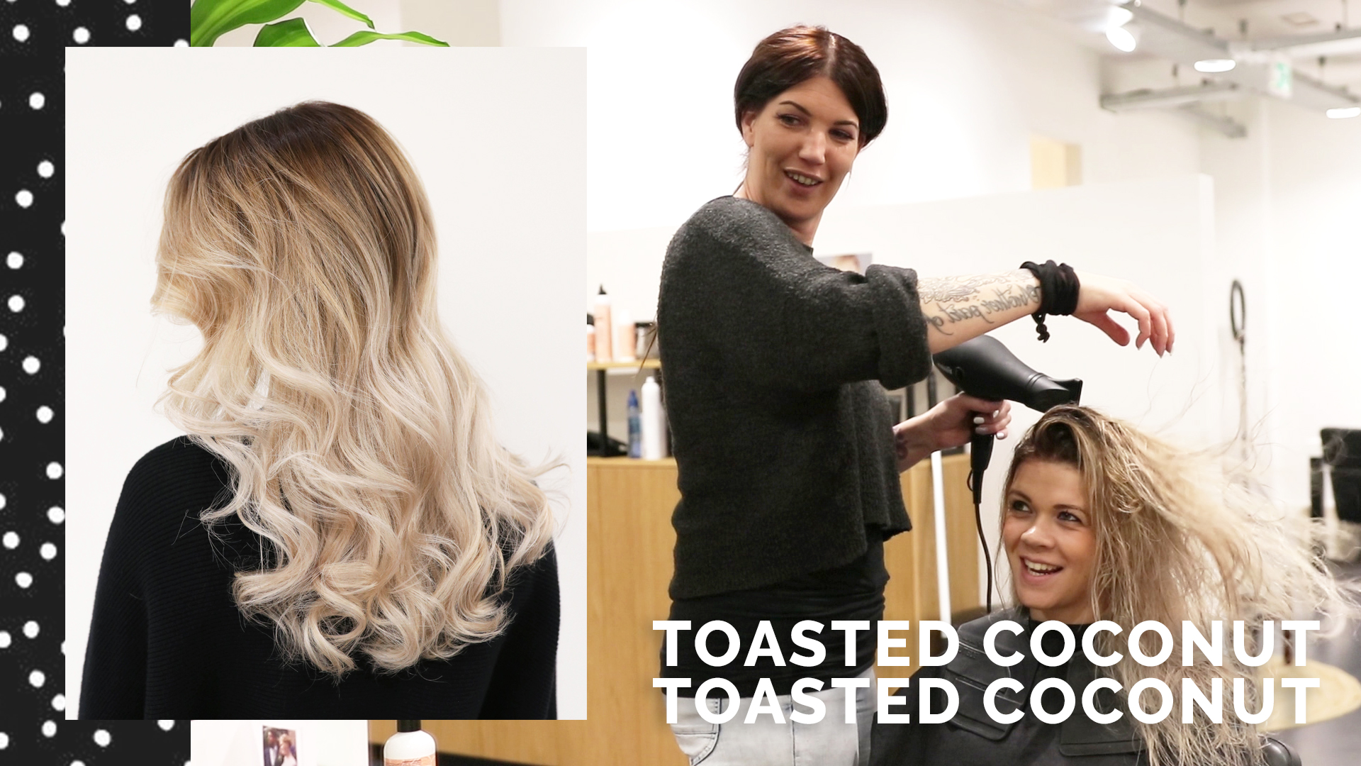 Make-over: Toasted coconut