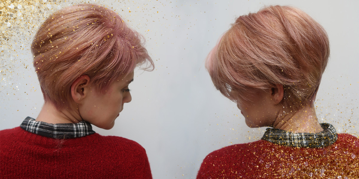Trend colour: Tinsel hair