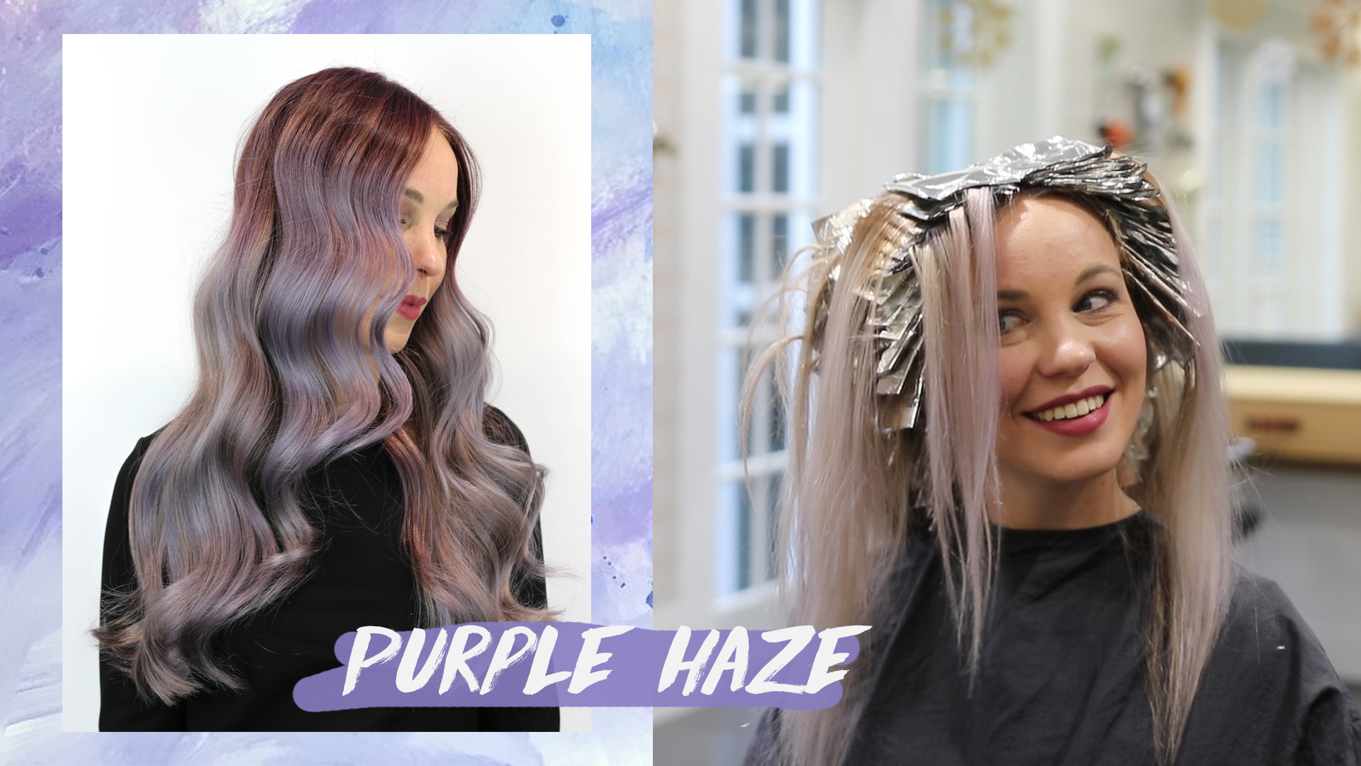 Make-over: Purple haze