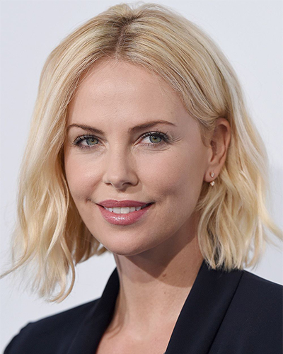 Charlize Theron (chin-length bob)
