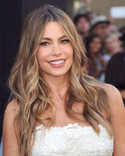 Sofia Vergara (voluminous waves)