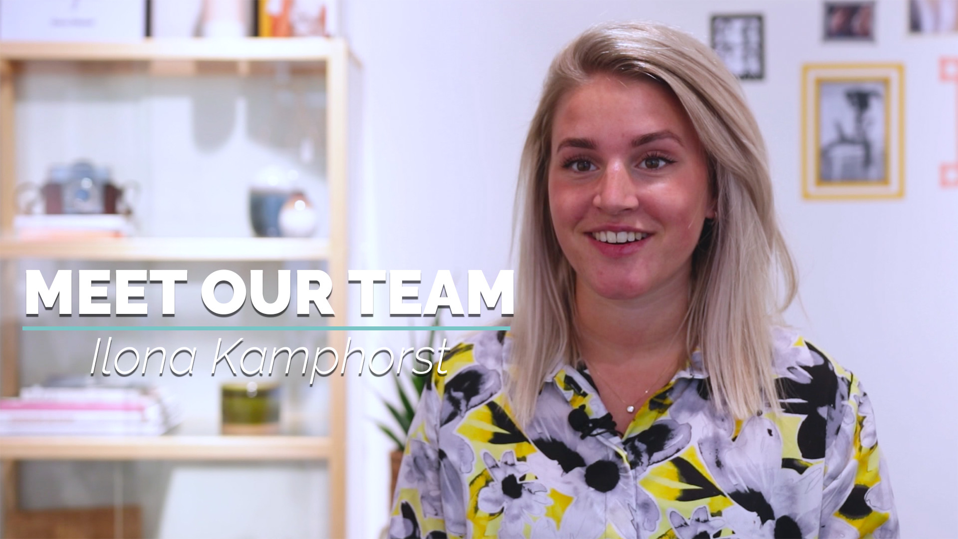 Meet our team: Ilona Kamphorst