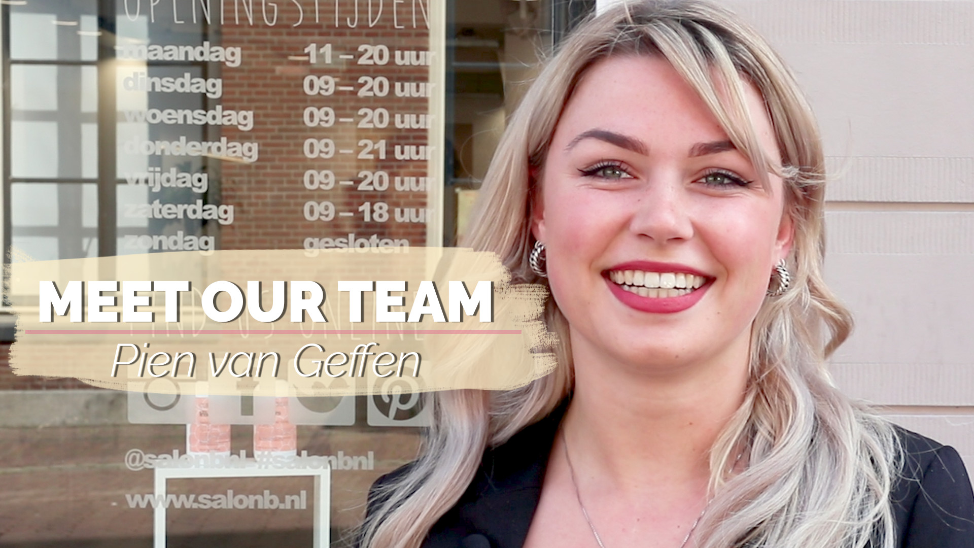 Meet our team: Pien van Geffen