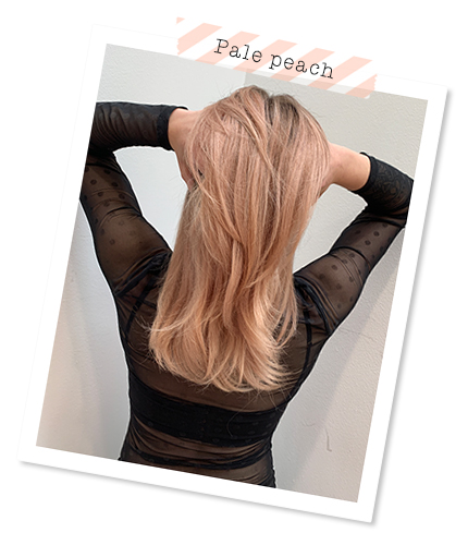 Trend colour: Pale peach