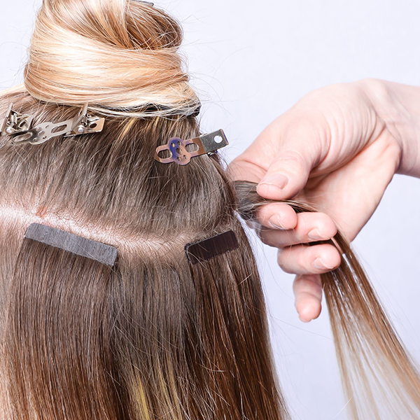 Double You tape extensions
