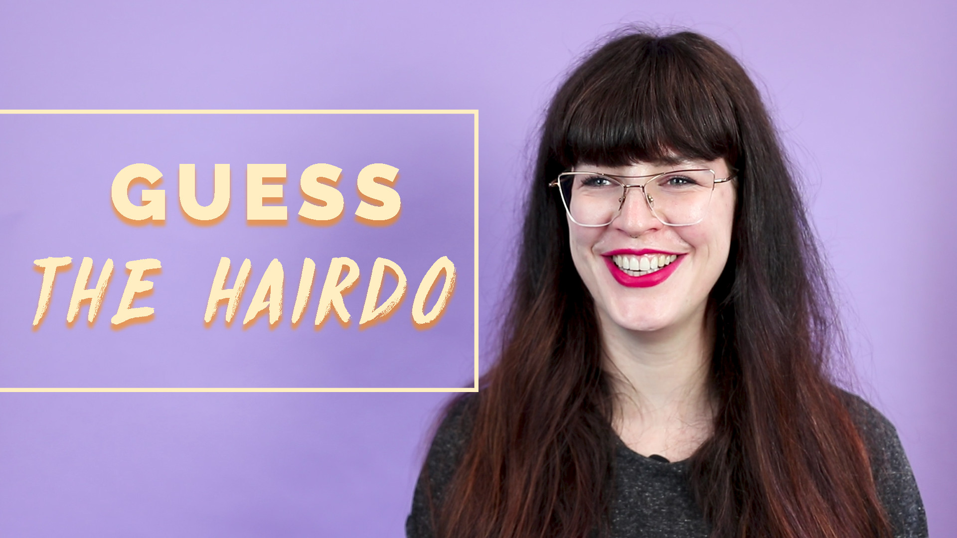 Guess the hairdo challenge