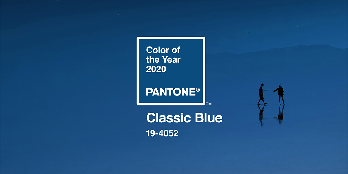 Colour of the Year: Classic Blue